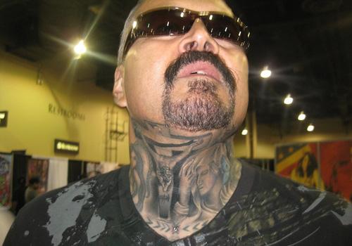 Whole Neck Tattoos